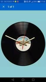 Tubular bells record clock