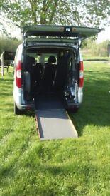 Fiat Doblo Aspen Gm 5 Door Disabled Wheelchair Access Ramp NEW MOT & SERVICE