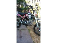 Demon x 125 pitbike not kx yz rm ktm cr