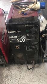 Mig Fabricator 200 Welding Machine works ok only £195