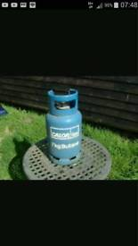 Small gas bottle