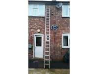 YOUNGMAN Large Double Extention Ladder £60
