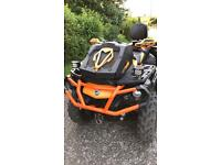Can-am outlander max xtp 1000r quad bike