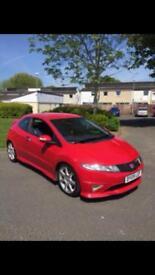 2009 Honda Civic type r gt £3695