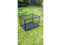 Very tough black dog cage/crate 3ft x 2ft x 2ft Indestructable