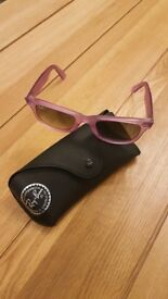 RayBan Womens Violet Sunglasses