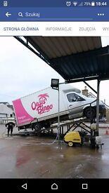 Ramp car wash