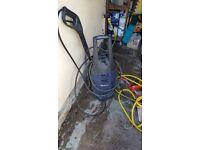 Jet washer with intermittent pump problem
