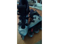Inline skates almost new size 7