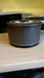 Vintage dinnerware Lancaster Vitramic Contrast Hornsea range kitchen dining table tableware antique
