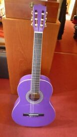Chantry purple full size guitar