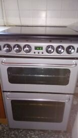 New World double oven gas cooker
