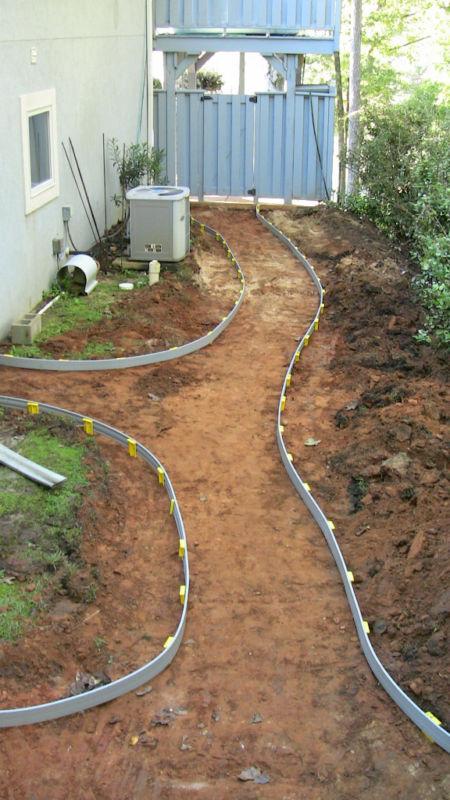 FlexiFORM Plastic flexible Concrete Sidewalk Curbs Forms board -50