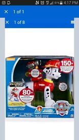 Brand new paw patrol interactive zoomer