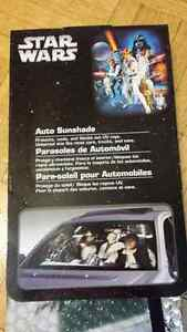 Rare Star wars Millennium sunshade sun shade car auto Cambridge Kitchener Area image 2