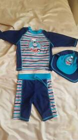 Thomas the tank swimsuit 12-18 months