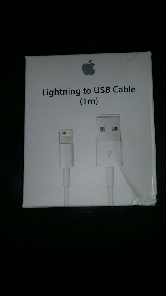 Apple lightning usb cable new sealed 100% authentic