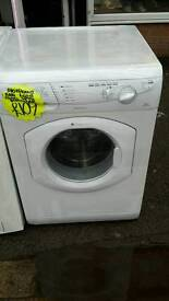 Hotpoint white 6.kg load 1200 spin washing machine
