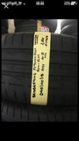 245/40/18 97Y BRIDGESTONE POTENZA SOO1 runflat tyre.