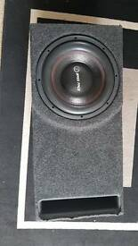 Bass face 12 inch 5000w 2500rms sub