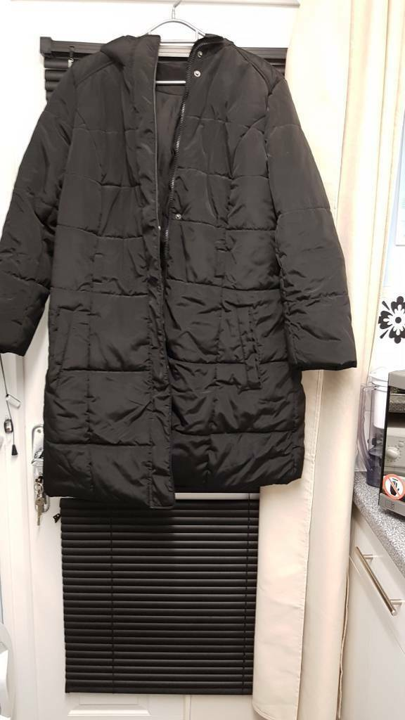 Ladies hooded womans coat