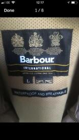 Male Barbour autumn Jacket for sale