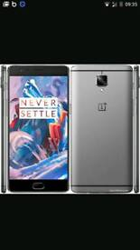 Oneplus 3 64g unlocked for swap or £295