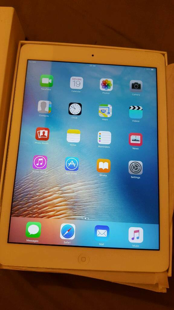 Apple ipad Air 16gb Cellular Unlocked for any Networkin Kings Lynn, NorfolkGumtree - Apple Air 16gb Cellular Unlocked for any network. This is boxed in immaculate condition. Has been hardly used as I did my Internet surfing on my phone more. Cash on collection and item can checked