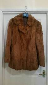 Ladies fur jacket