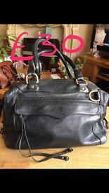Various bags all individually priced (Rebecca Minkoff, Clarks, Ollie & Nic etc )
