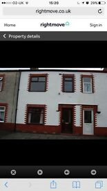 3 bed mod terr newly decorated - available Now