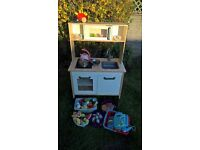 Ikea play kitchen DUKTIG with accessories