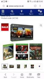 Xbox one X bundle, Brand new in box with receipt and warranty etc