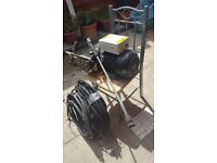 PRESSURE WASHER INTERPUMP WS201 PUMP 200 BAR 15LITRES MIN (ONLY USED FOR 5 MONTHS)