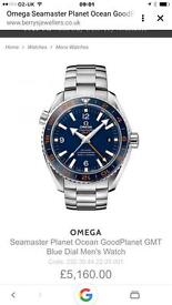 Omega Seamaster planet ocean Gmt 600