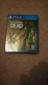The Walking Dead complete 1st season - ps4