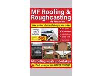M F Roofing and Roughcasting roofer Glasgow and Lanarkshire