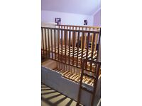 Twin bunk cots