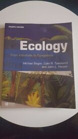 Ecology - From Individuals to Ecosystems. M. Begon, C. R. Townsend & J. L. Harper - 4th Edition