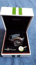 Seiko Honda F1 Racing Limited Edition Watch