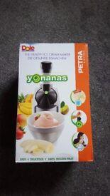 Yonanas Frozen Dessert Maker - Brand New in Box