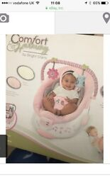 Baby bouncer pink girls