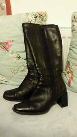 Clarks springer knee high boots!