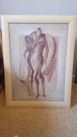Large Shane Wilson framed print