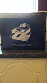 Brand New stainless steel deep fryer for £30