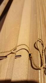 Wooden venetian blinds x 2 (174x129.7cm & 165.3x129.2cm)