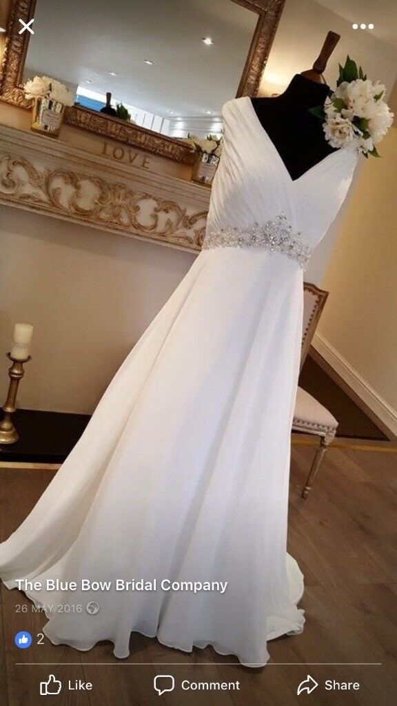 Wedding dress Rosa Couture size 20