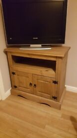 Tv Unit - antique pine wood
