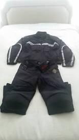Motorcycle jacket and pants