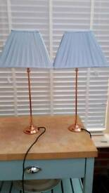 Pair of Laura Ashley lamps